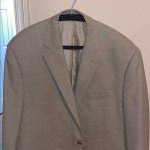 Men's 46R Taupe blazer